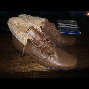 Liz Baker Brown Boots Size 8